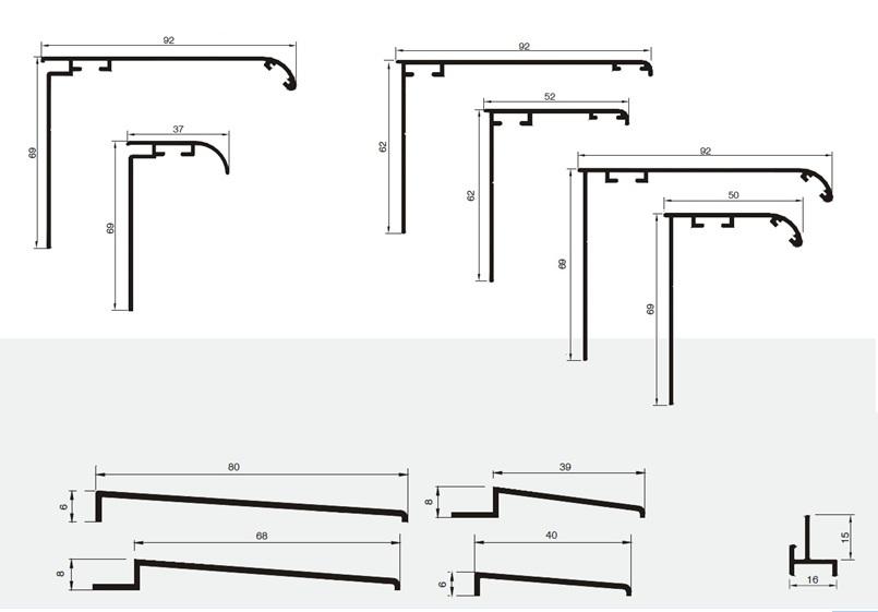 Carpinsystem menuiserie en aluminium et en pvc pare douche et panneaux un - Habillage baignoire pvc ...